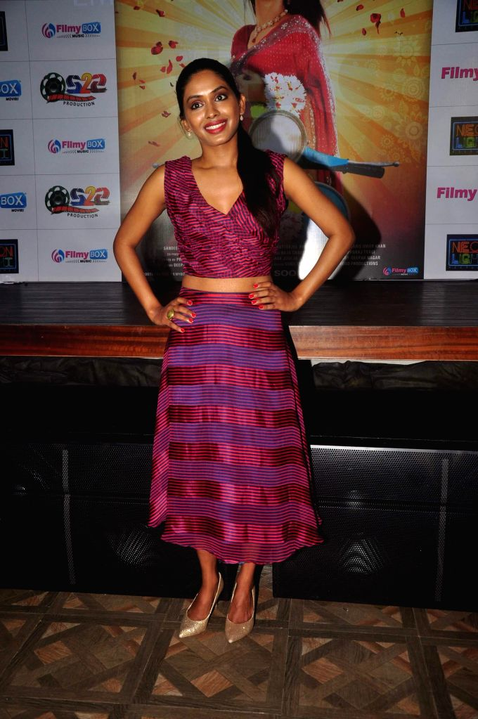 Actor Anjali Patil during music launch of film Mrs Scooter in Mumbai, on Jan. 19, 2015. - Anjali Patil