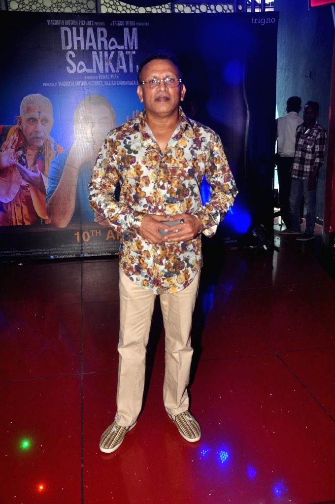 Actor Annu Kapoor during the trailer launch of film Dharam Sankat Mein in Mumbai on March 7, 2015. - Annu Kapoor