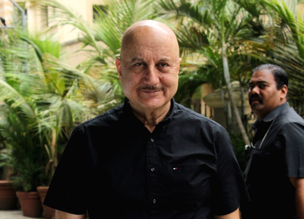 """Mumbai: Actor Anupam Kher at the trailer launch of his upcoming film """"One Day: Justice Delivered"""", in Mumbai, on May 21, 2019. (Photo: IANS) - Anupam Kher"""