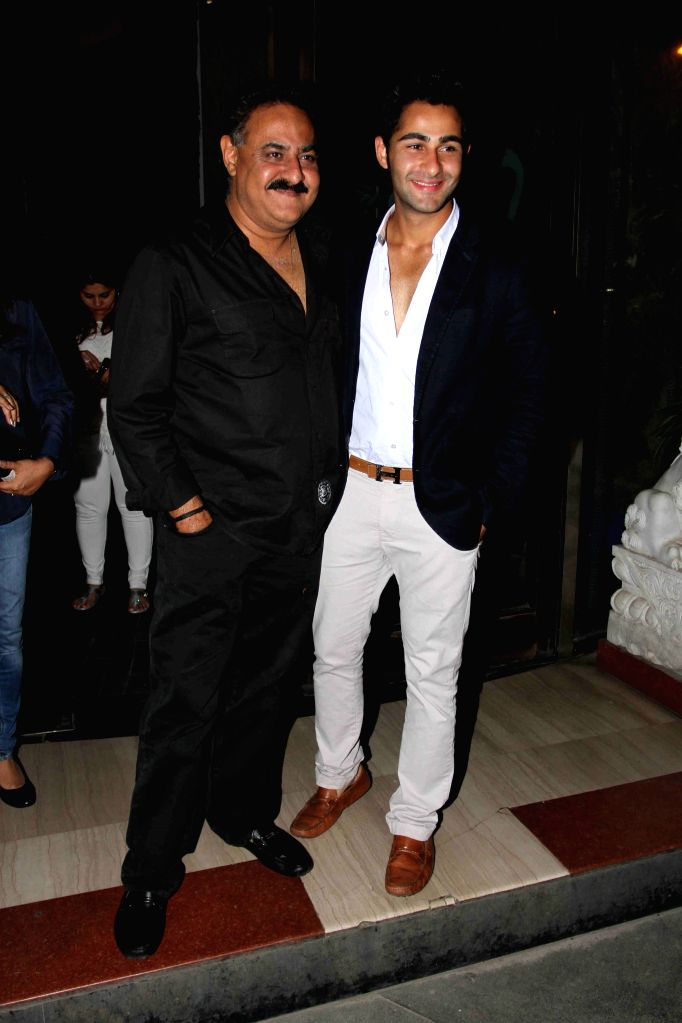 Actor Armaan Jain during Babita Kapoor`s birthday party in Mumbai, on April 19, 2015. - Armaan Jain