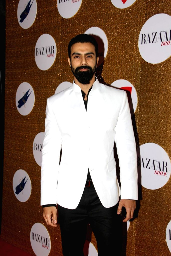 Actor Ashmit Patel during the Red Carpet For Harper's Bazaar Bride 1st Anniversary Party in Mumbai on February 2015. - Ashmit Patel