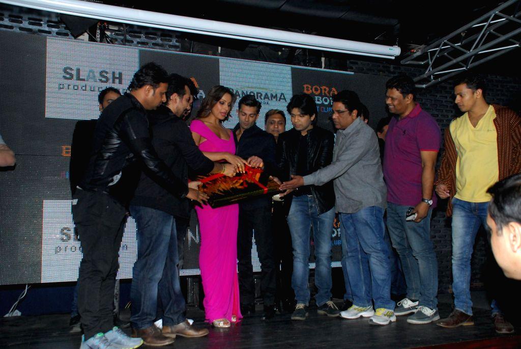 Actor Bipasha Basu during the trailer and music launch of film Alone in Mumbai, on Dec. 22, 2014. - Bipasha Basu