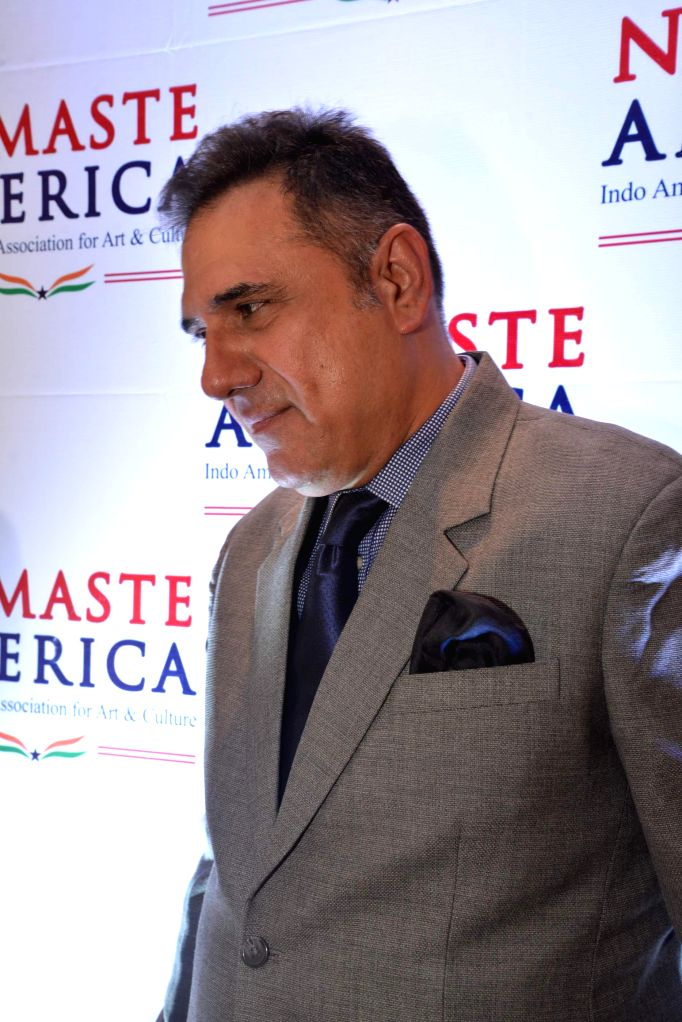 Actor Boman Irani during Namaste America event to invite new US Consul General in Taj Lands End, Mumbai on Nov. 24, 2014.