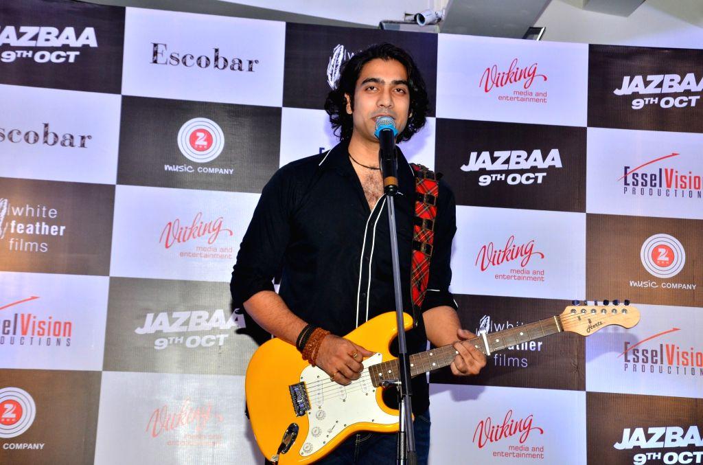 Mumbai: Actor Chandan Roy Sanyal during the song launch of film Jazbaa in Mumbai, on Sep 7, 2015. (Photo: IANS) - Chandan Roy Sanyal