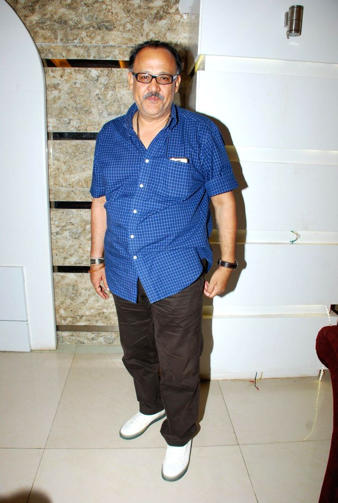 Actor ctor Alok Nath during the music launch of film Life Mein Twist Hai in Mumbai, on Nov 19, 2014. - Alok Nath