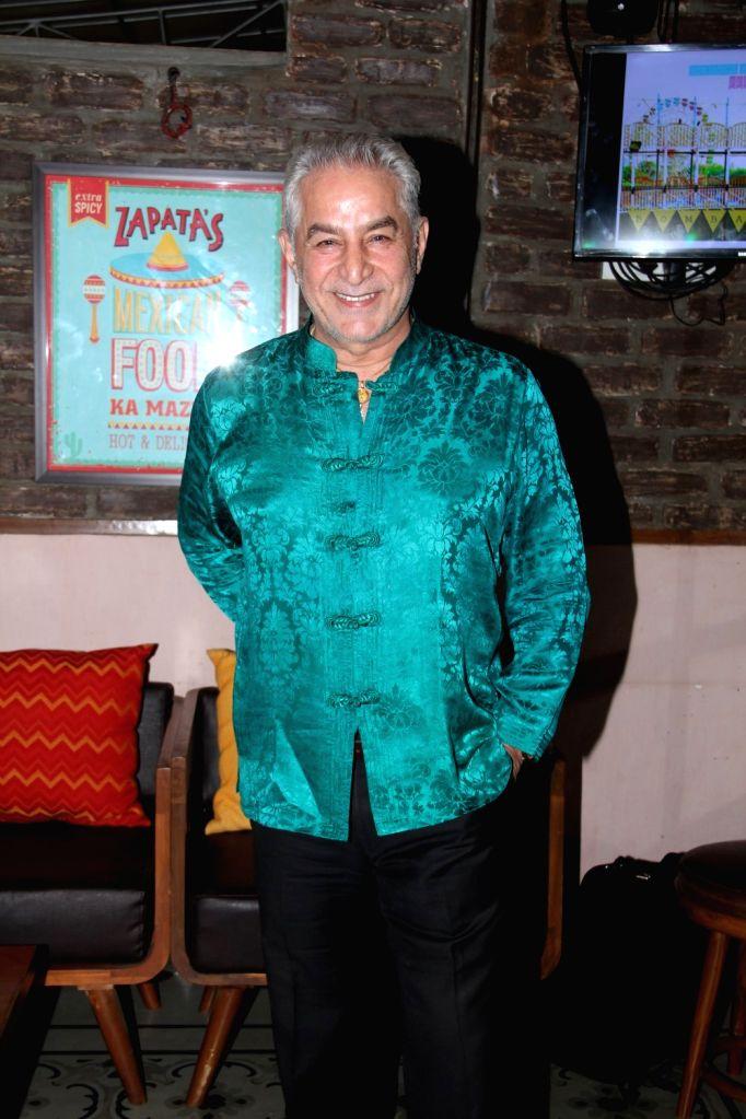 Actor Dalip Tahil during Bombariya Film Announcement launch party in Mumbai on April 21, 2015. - Dalip Tahil