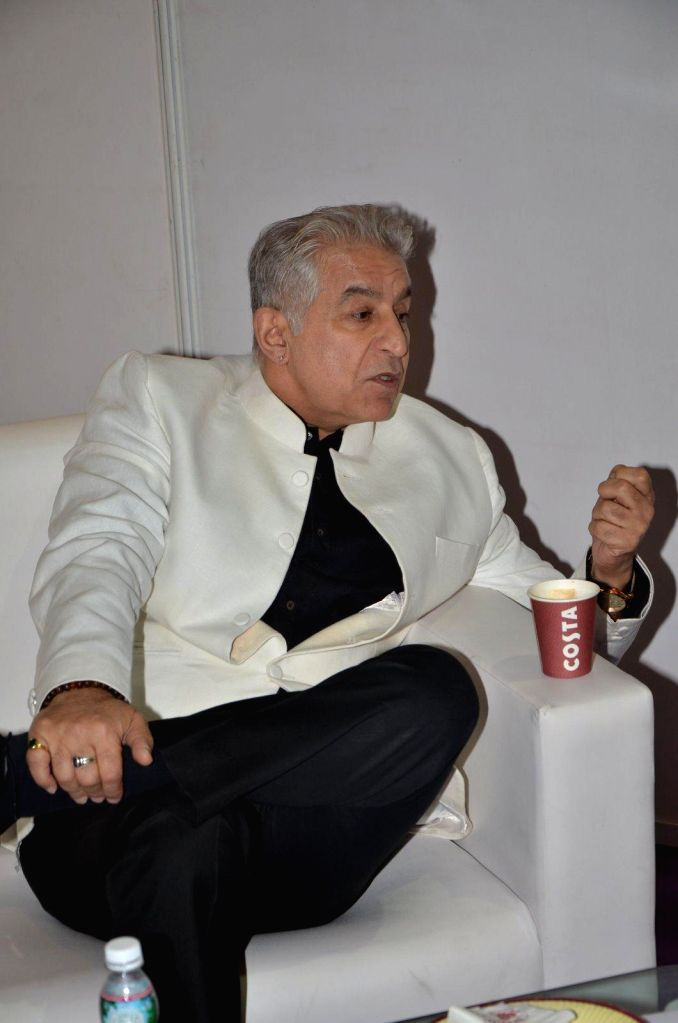 Actor Dalip Tahil during the inauguration of the India International Travel and Tourism (IITT) exhibition in Mumbai, on Jan. 15, 2015. - Dalip Tahil