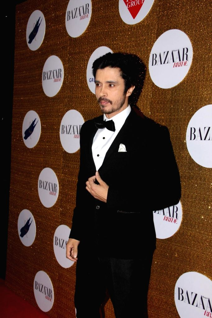 Actor Darshan Kumar during the Red Carpet For Harper's Bazaar Bride 1st Anniversary Party in Mumbai on February 2015. - Darshan Kumar