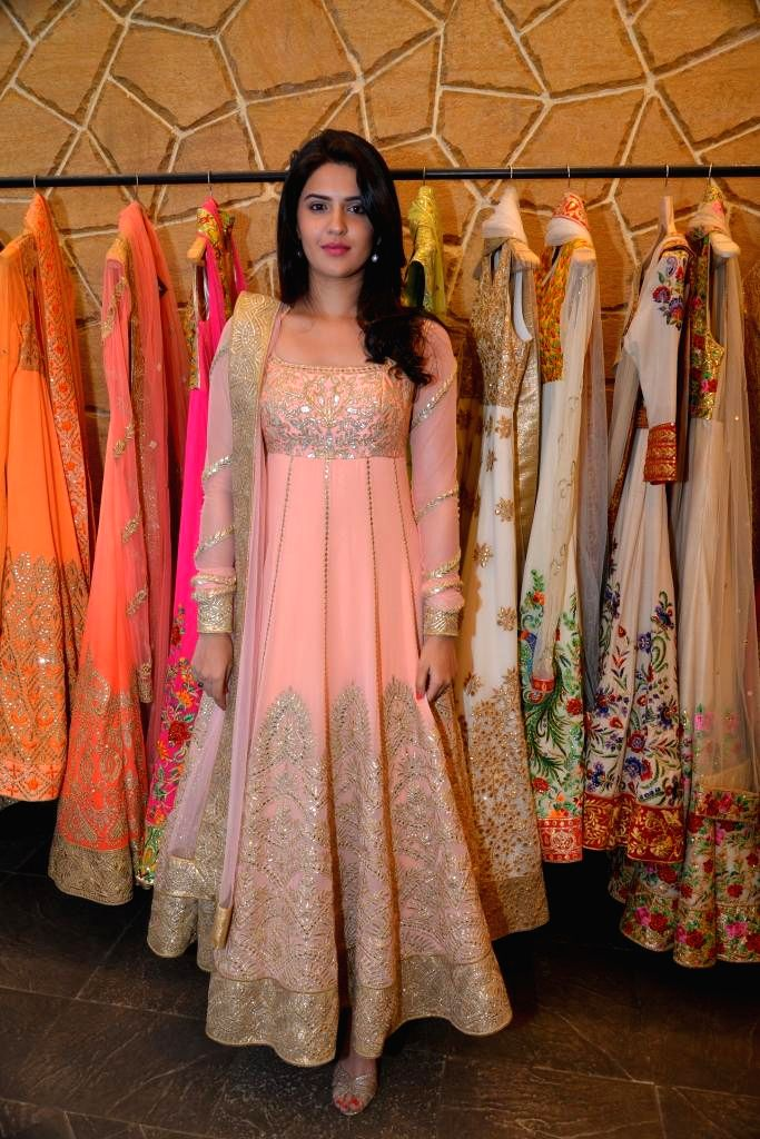 Actor Deeksha Seth during the launch of Spring Summer Collection 2015 by designers Tamanna Punjabi Kapoor and Shruti Sanchet in Mumbai, on March 13, 2015. - Deeksha Seth and Tamanna Punjabi Kapoor