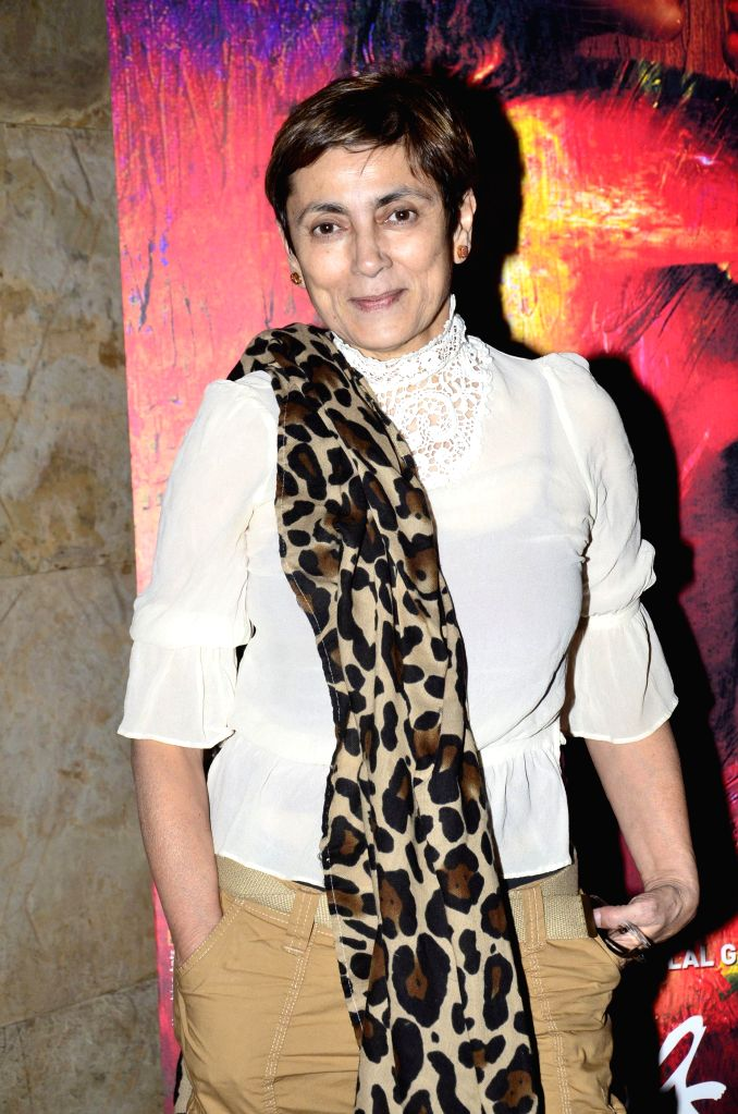 Actor Deepa Sahi during the screening of film Rang Rasiya, in Mumbai, on Nov. 4, 2014. - Deepa Sahi