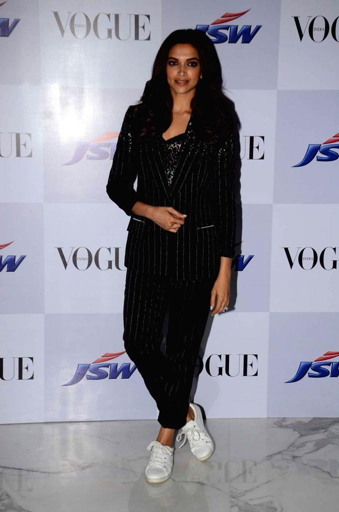 Actor Deepika Padukone during the launch of short film My Choice in Mumbai on March 27, 2015. - Deepika Padukone
