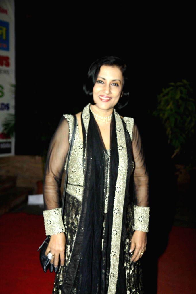 Actor Delnaaz Irani during the All India Achievers Award in Mumbai, on Jan. 09, 2015. - Delnaaz Irani