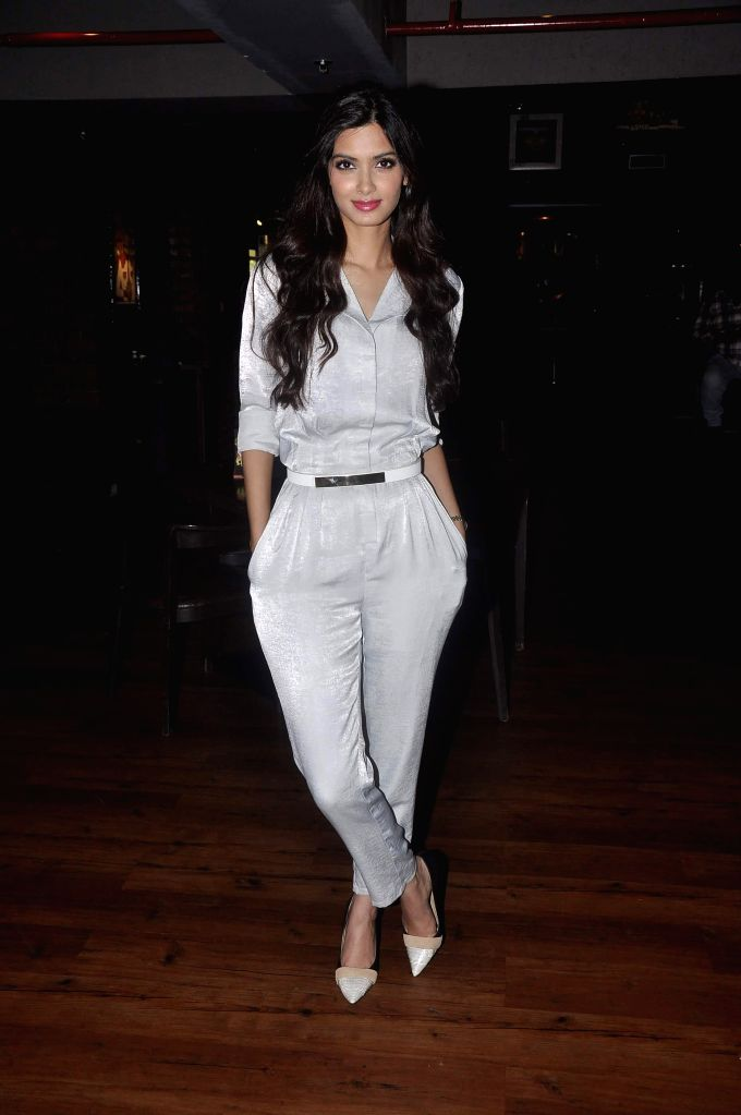 Actor Diana Penty during the unveils of Travel Plus cover in Mumbai, on November 13, 2014.