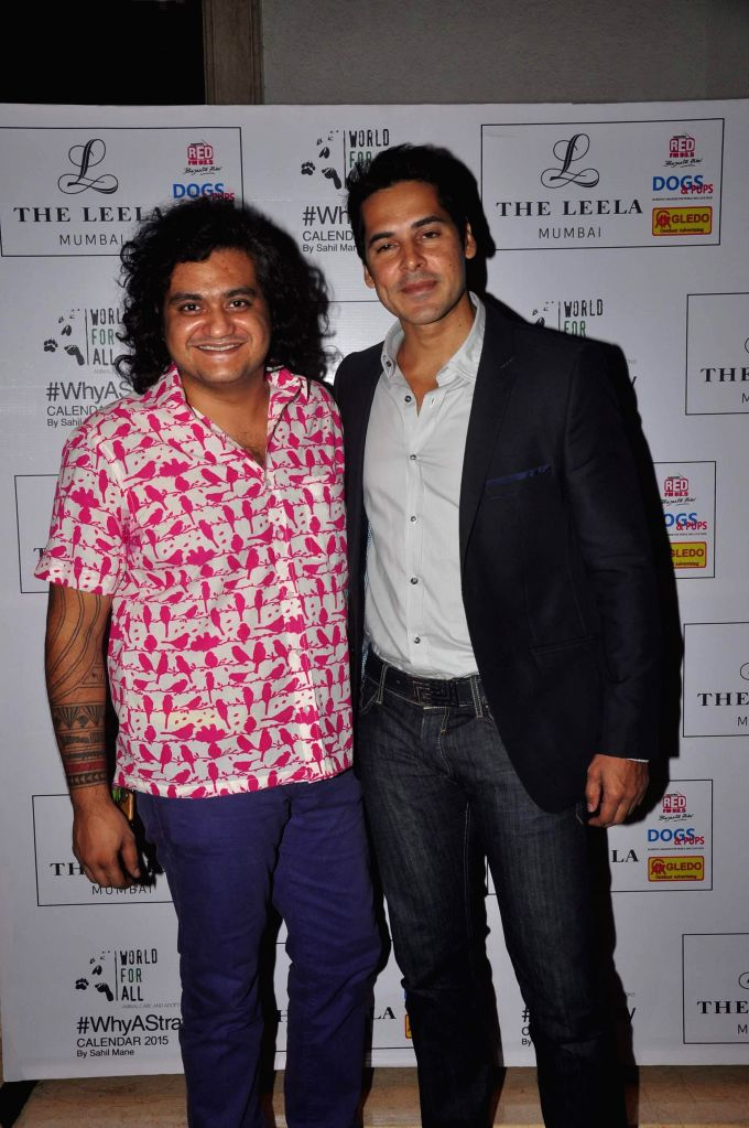 Actor Dino Morea during the calendar launch of Shail Mane's `Why A Stray` in Mumbai, on Nov 27, 2014.