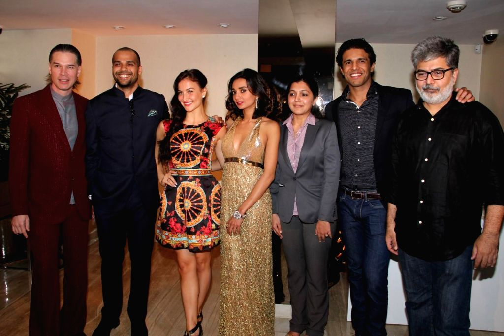 Actor Elli Evram during a store launch of Zoya, in Mumbai, on Feb 10, 2015.