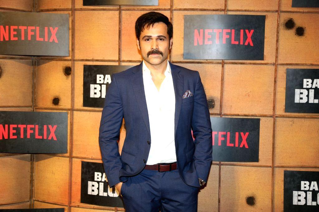 "Mumbai: Actor Emraan Hashmi at the screening of ""Bard of Blood"" in Mumbai on Sep 23, 2019. (Photo: IANS) - Emraan Hashmi"