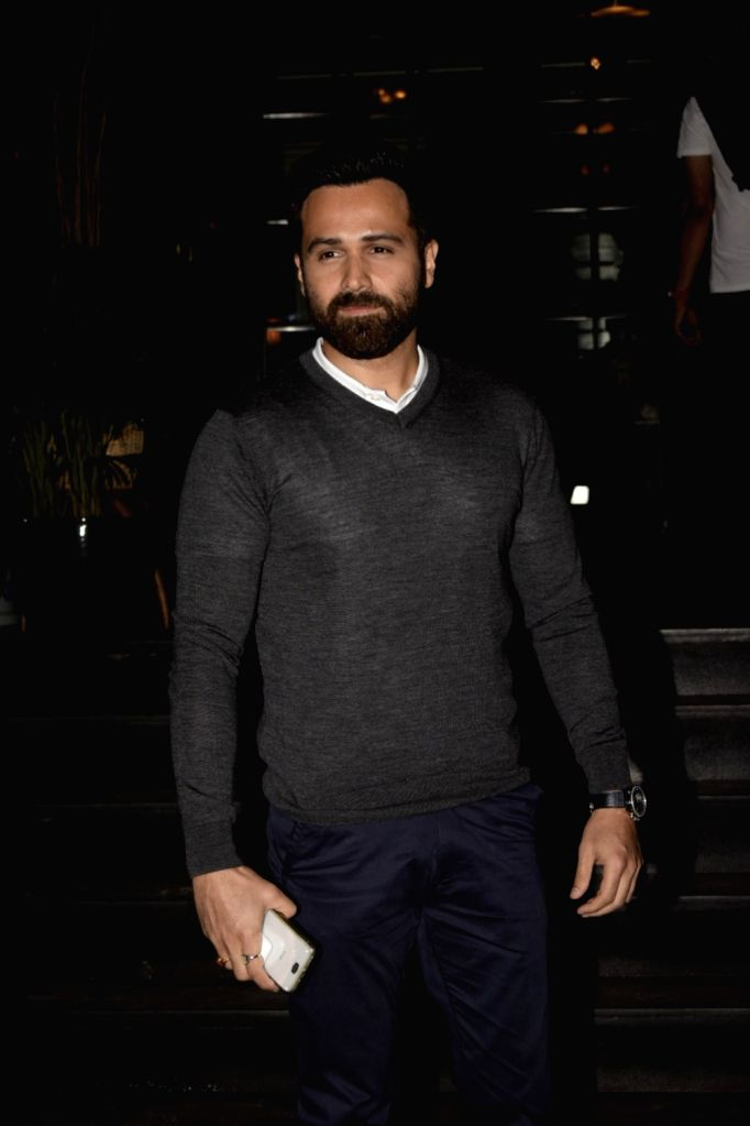 "Mumbai: Actor Emraan Hashmi at the screening of his upcoming film ""Why Cheat India"" in Mumbai on Jan 15, 2019. (Photo: IANS) - Emraan Hashmi"