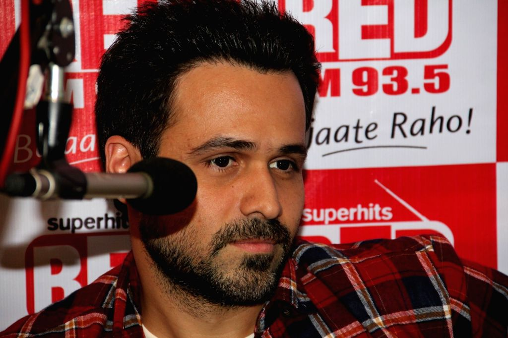 Actor Emraan Hashmi during the promotion of his upcoming film Mr. X at Red FM office in Mumbai, March 31, 2015. - Emraan Hashmi