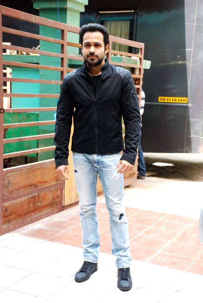 Actor Emraan Hashmi during the promotion of the film Mr X on the sets of television serial CID, in Mumbai on April 12th, 2015. - Emraan Hashmi