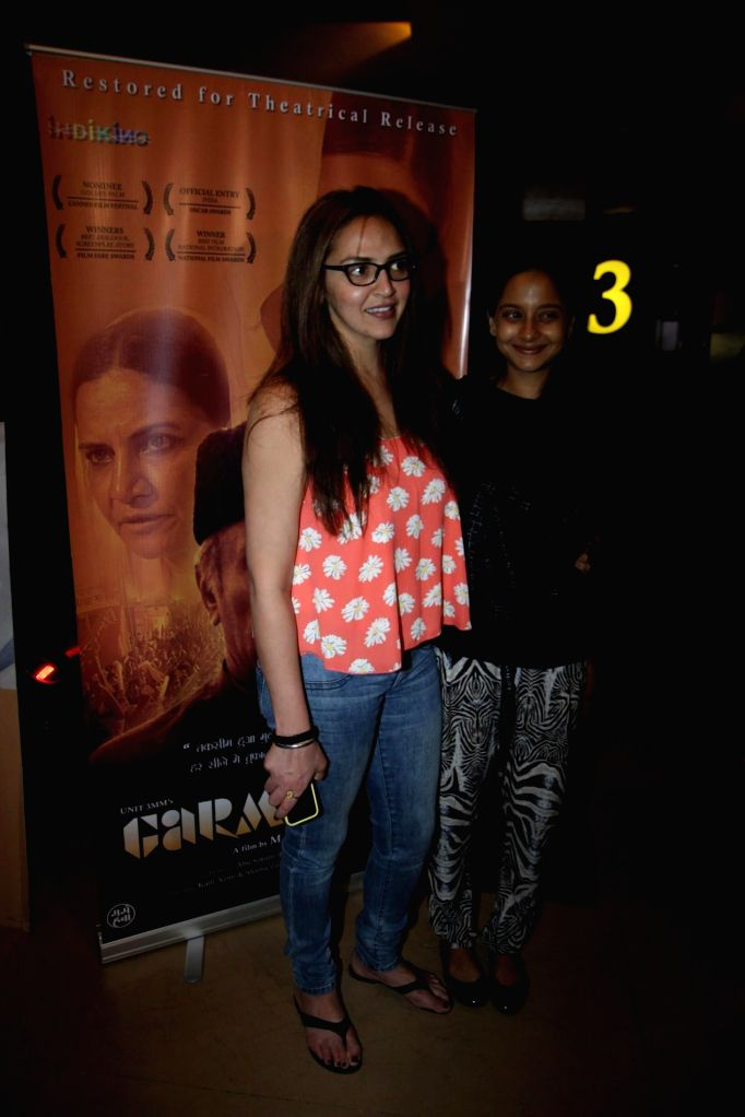 Actor Esha Deol spotted at Hollywood film Gone Girl show at PVR Cinemas in Mumbai on Nov. 11, 2014.
