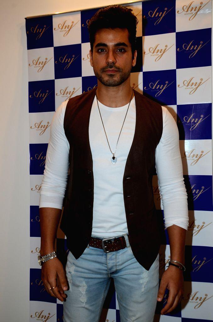 Actor Gautam Gulati during the launch of store Anj Kouture in Mumbai. - Gautam Gulati