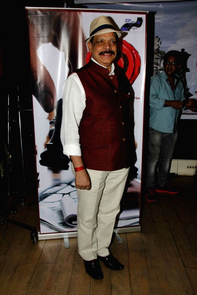 Actor Govind Namdev during the muhurat and song recording of film JD in Mumbai, on 5th Jan 2015 - Govind Namdev