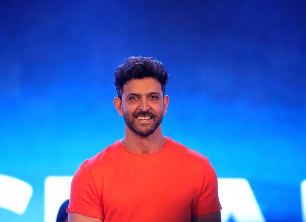 Mumbai: Actor Hrithik Roshan during a programme, in Mumbai, on June 25, 2019. (Photo: IANS) - Hrithik Roshan
