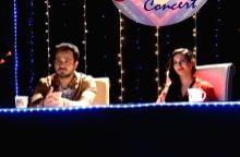 Actor Imraan Hashmi and actress Amyra Dastur promote their upcoming film Mr X on the sets of BBC productions` Kaisi Yeh Yaariyan in Mumbai on April 14, 2015. - Imraan Hashmi