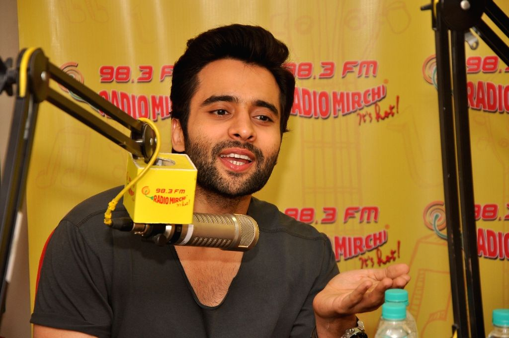 Actor Jackky Bhagnani during a promotion event of their upcoming film Welcome to Karachi in Mumba, on April 27, 2015. - Jackky Bhagnani