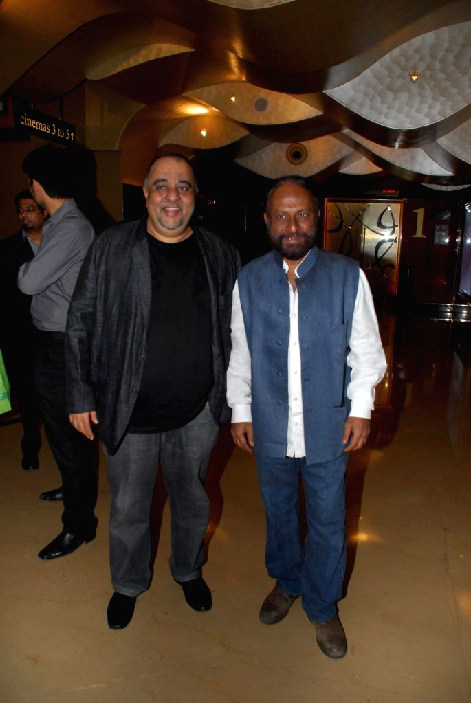 Actor Jagdish Rajpurohit and Filmmaker Ketan Mehta during the My French Film Festival 2015 press meet and screening of film Eastern Boy at PVR Cinemas in Mumbai on 13th Jan 2015 - Jagdish Rajpurohit and Ketan Mehta