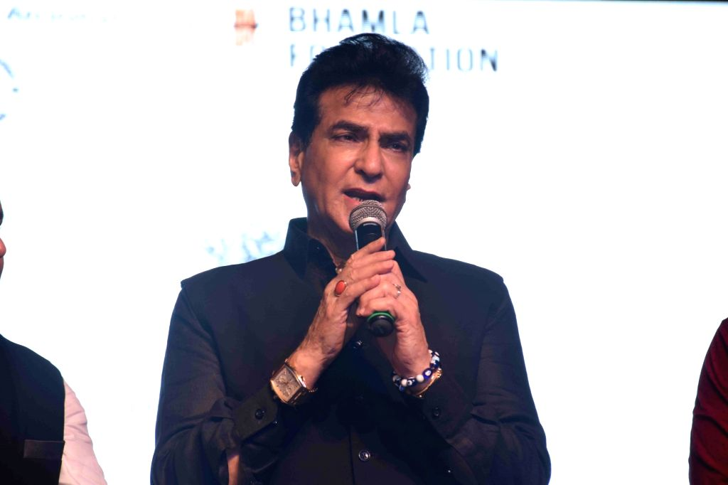 Mumbai: Actor Jeetendra during a program to celebrate world environment day organized by Bhamla Foundation and MCGM in Mumbai, on June 5, 2017. (Photo: IANS) - Jeetendra