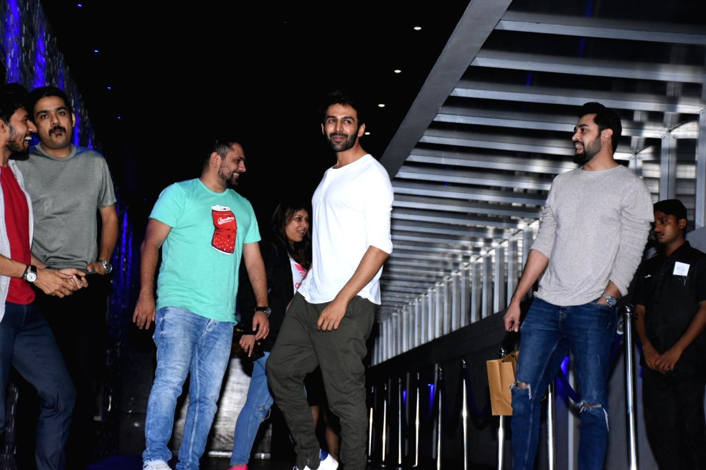 Mumbai: Actor Kartik Aaryan seen at Bandra in Mumbai, on July 9, 2019. (Photo: IANS) - Kartik Aaryan