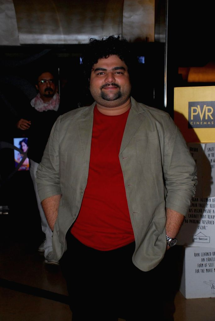 Actor Kavin Dave during the My French Film Festival 2015 press meet and screening of film Eastern Boy at PVR Cinemas in Mumbai on 13th Jan 2015 - Kavin Dave