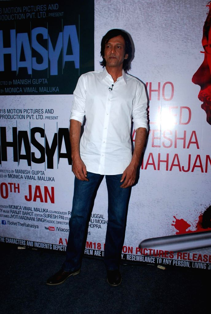 Actor Kay Kay Menon during the trailer launch of upcoming film Rahasya in Mumbai, on Jan. 12, 2015. - Kay Kay Menon