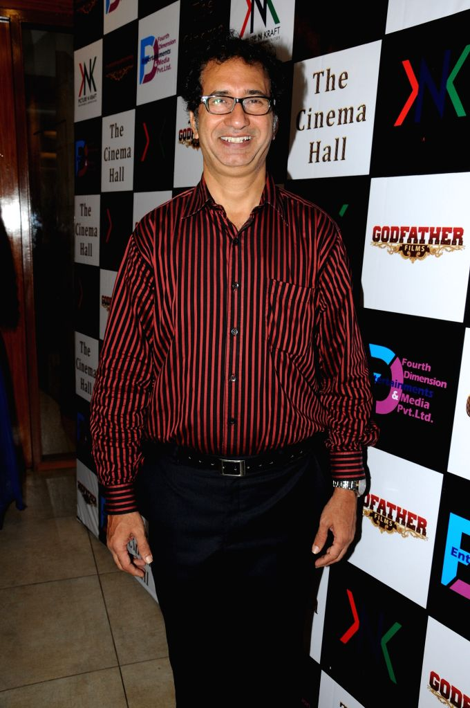Actor Kurush Deboo during the announcement of new Film, The Cinema Hall, in Mumbai, on April 17, 2015. - Kurush Deboo
