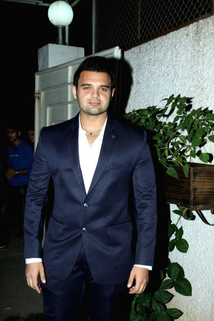 Actor Mahaakshay Chakraborty during the trailer launch of film Ishqedarriyaan in Mumbai on 7th April 2015. - Mahaakshay Chakraborty