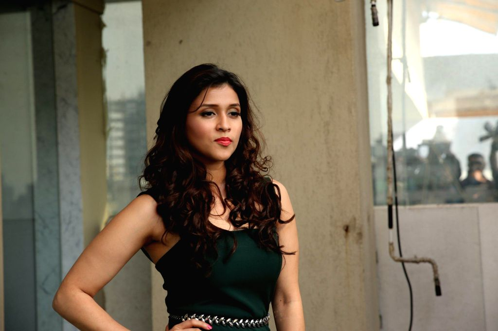 Actor Mannara at film Zid media interactions, Mumbai on Nov 13, 2014. - Mannara