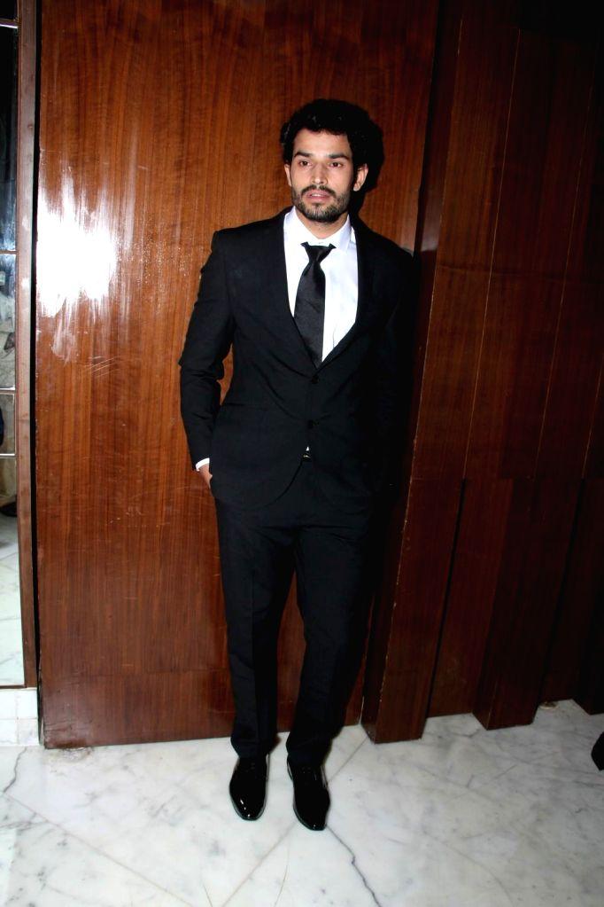 Actor Manoj Sharma during the music launch of film Three Atrangi Jai-Veeru-Gabbar in Mumbai on March 20, 2015. - Manoj Sharma