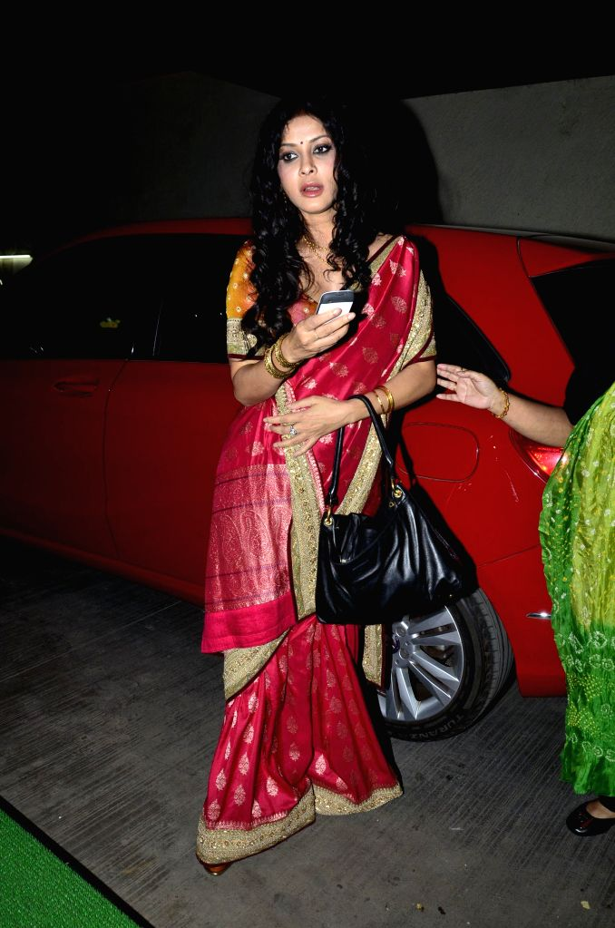 Actor Nandana Sen during the screening of film Rang Rasiya, in Mumbai, on Nov. 4, 2014. - Nandana Sen