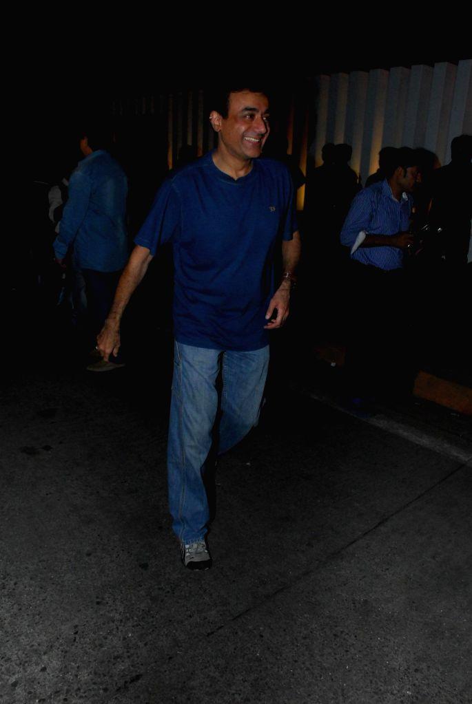 Actor Nitish Bharadwaj during the condolence meeting organised in the memory of late filmmaker Ravi Chopra in Mumbai, on Nov 15, 2014. - Nitish Bharadwaj