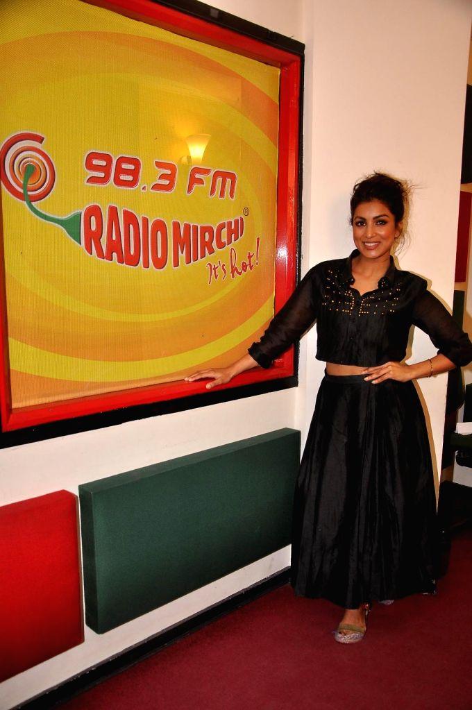 Actor Pallavi Sharda at Radio Mirchi studio for promotion of her upcoming film Hawaizaada in Mumbai, on Jan 08, 2015. - Pallavi Sharda