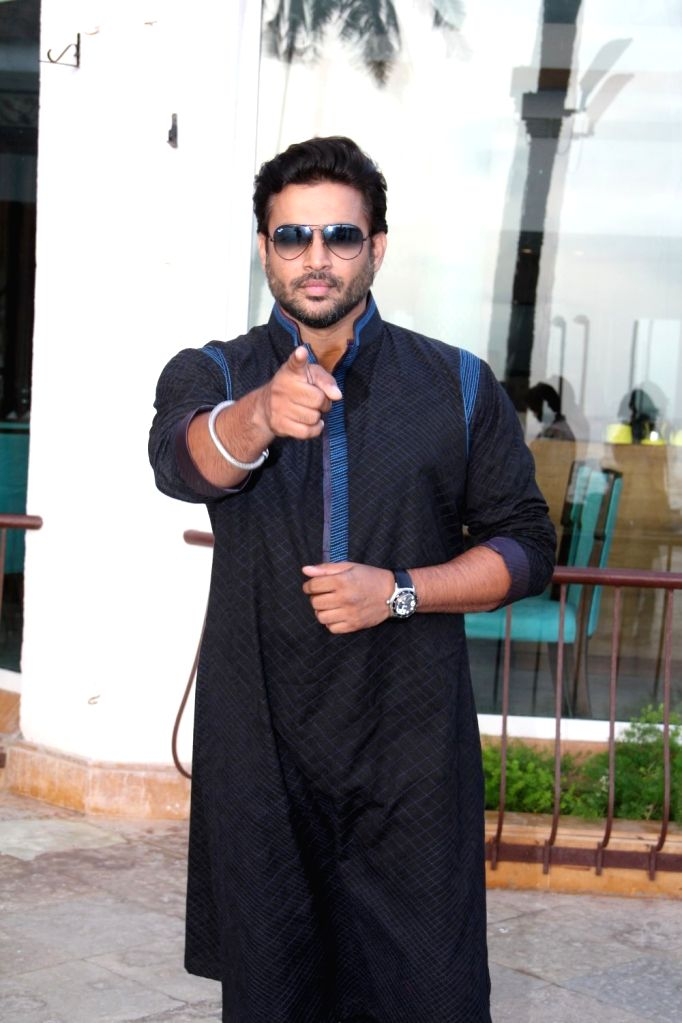 Actor R Madhavan during a promotion for his upcoming movie `Tanu Weds Manu Returns` in Mumbai on, April 29, 2015.