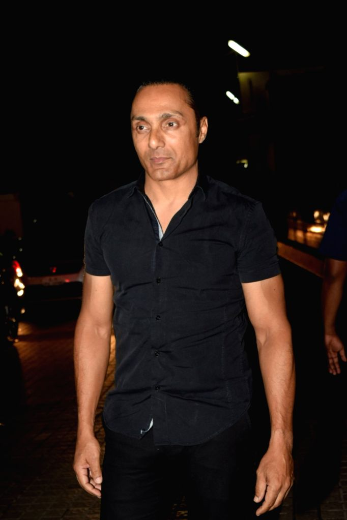 "Mumbai: Actor Rahul Bose at the screening of the upcoming film ""The Sky Is Pink"" in Mumbai on Oct 9, 2019. (Photo: IANS) - Rahul Bose"