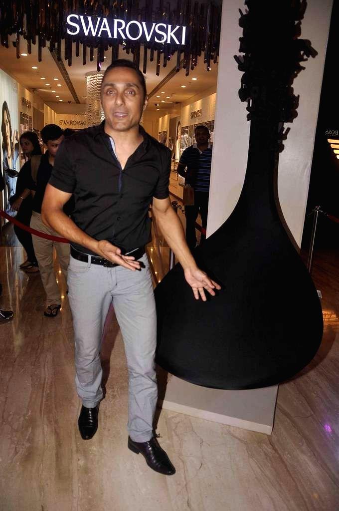 Actor Rahul Bose during an art installation launch at Palladium in Mumbai, on June 18, 2015.