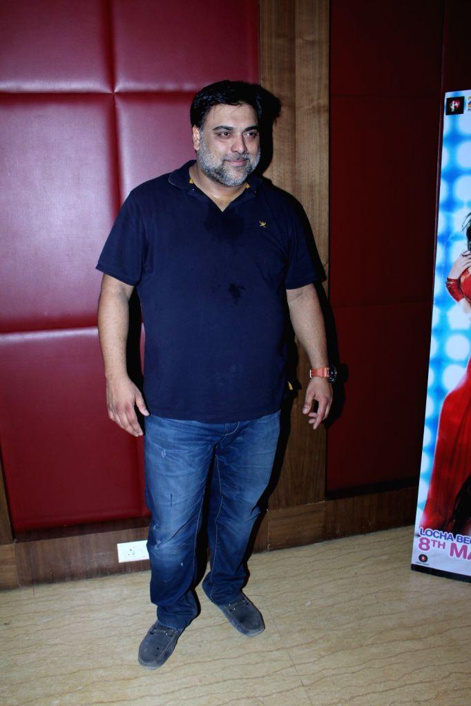 Actor Ram Kapoor during a media interaction at the promotion of film Kuch Kuch Locha Hai in Mumbai. - Ram Kapoor