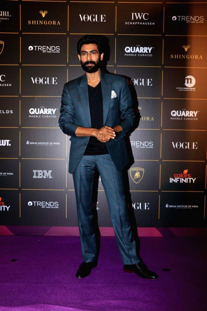 :Mumbai: Actor Rana Daggubati at The Vogue Women Of The Year Awards 2018, in Mumbai on Oct 27, 2018. (Photo: IANS).