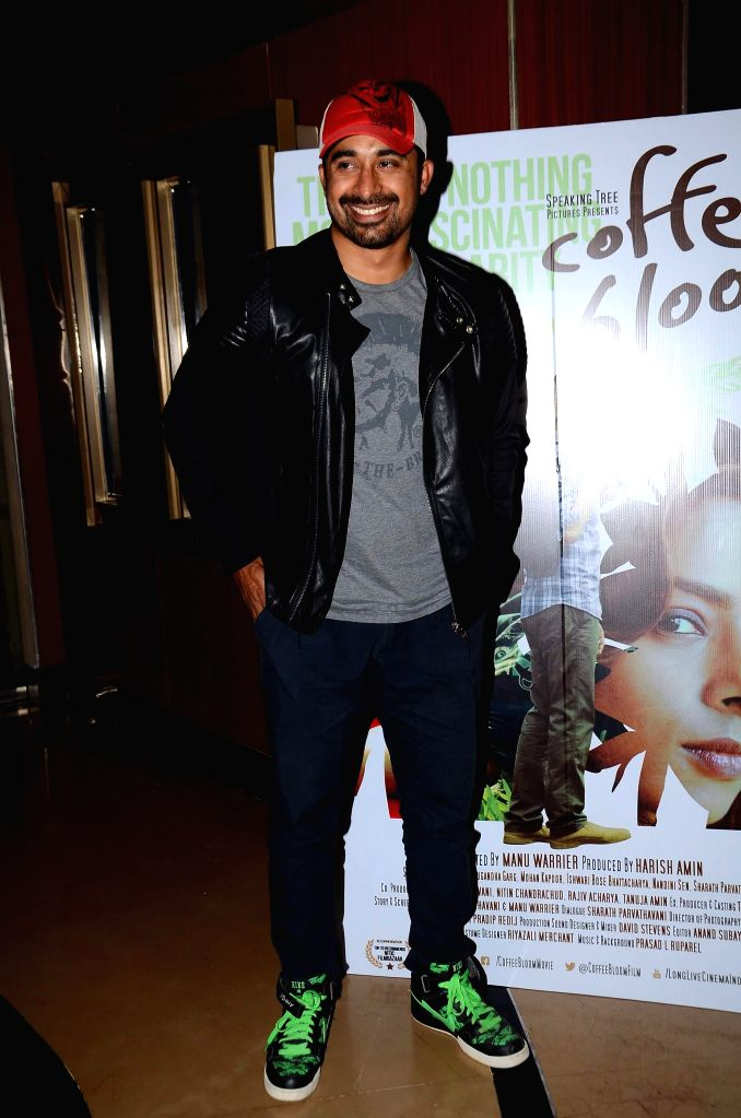 Actor Rannvijay Singh during screening film Coffee Bloom in Mumbai on March 5, 2015. - Rannvijay Singh