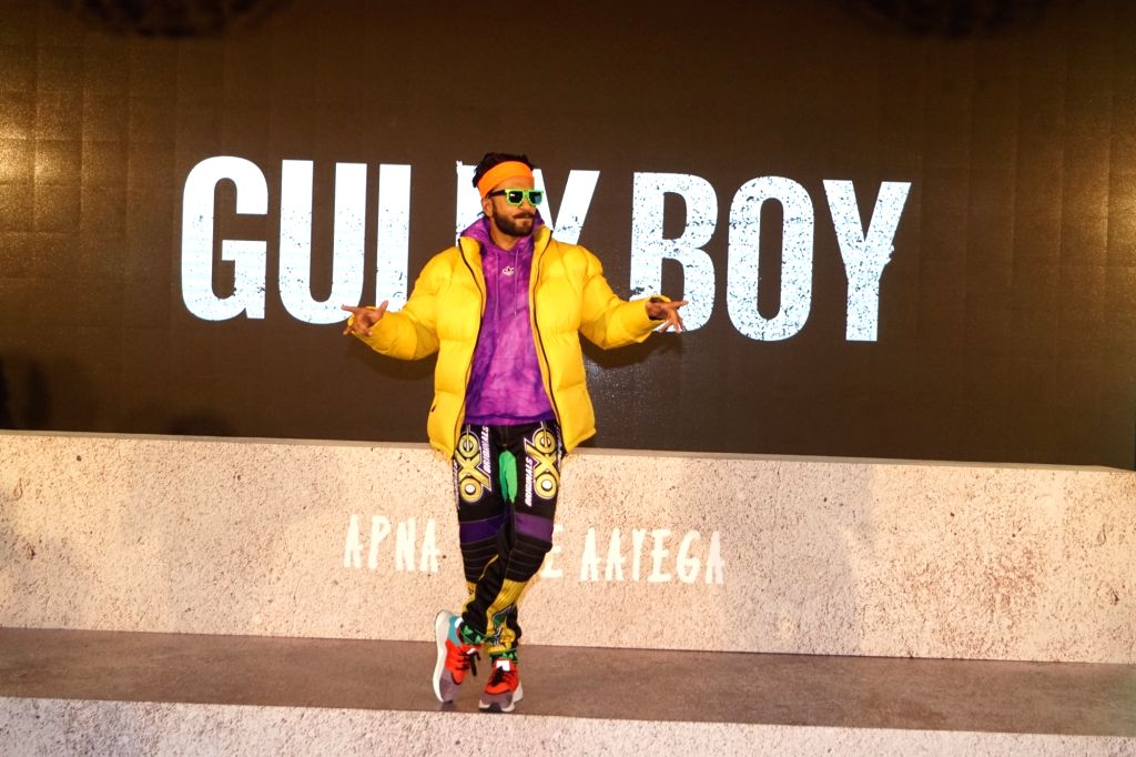 "Mumbai: Actor Ranveer Singh at the trailer launch of upcoming film ""Gully Boy"" in Mumbai on Jan 9, 2019. (Photo: IANS) - Ranveer Singh"