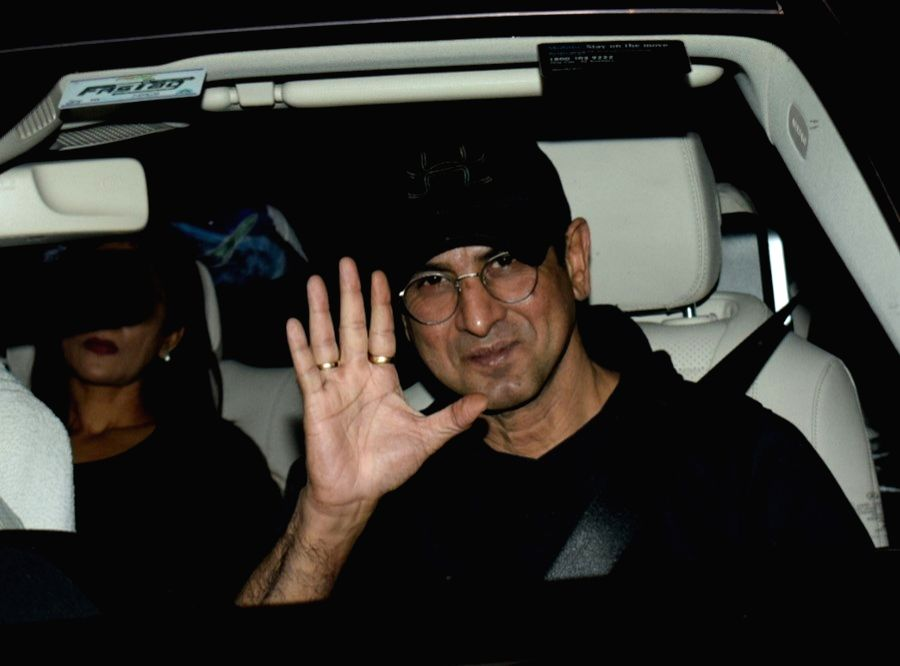 """Mumbai: Actor Ronit Roy arrives to attend the special screening of film """"LoveYatri"""" in Mumbai on Oct 4, 2018. (Photo: IANS) - Ronit Roy"""