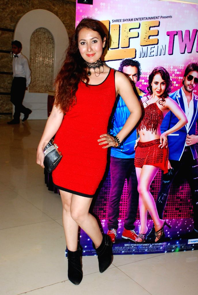 Actor Sareh Far during the music launch of film Life Mein Twist Hai in Mumbai, on Nov 19, 2014. - Sareh Far